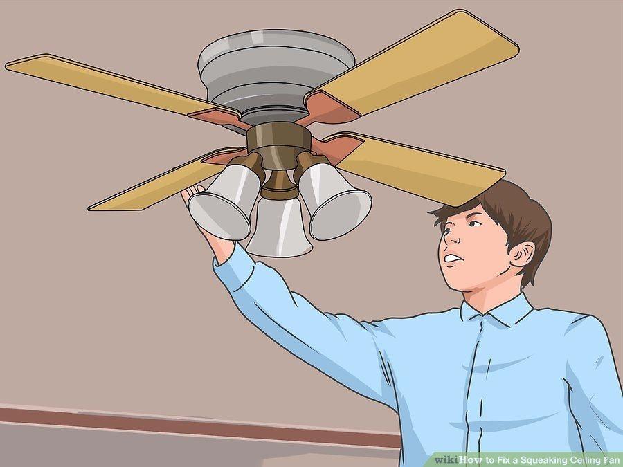 Wobbling ceiling fan?