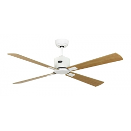 NEO ECO II 132 WE maple/beech with DC motor & remote control by Casafan.
