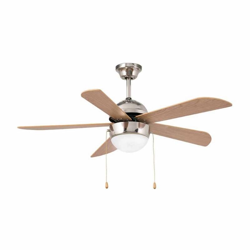 Modern ceiling fan with light veneto by faro veneto nickel by faro aloadofball Images