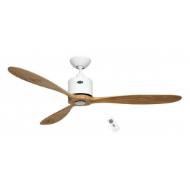 Aeroplan ECO White - Natural with DC motor and remote control by Casafan