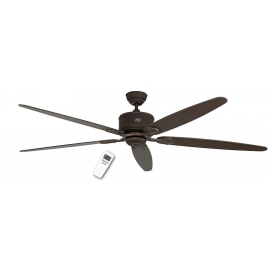 ECO Elements 180 BA Antique Brown with DC motor and remote control by Casafan.