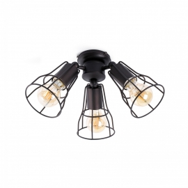 Light fixture for Yakarta and Aloha FARO ceiling fans in various colours