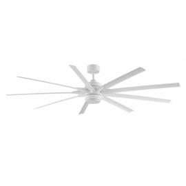 ODYN White matt ceiling fan with DC motor by FANIMATION