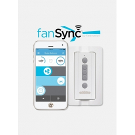 FANSYNC Bluetooth remote fan control by FANIMATION