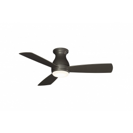 Outdoor ceiling fan Hugh Wet gray 112 with LED light by Fanimatiion