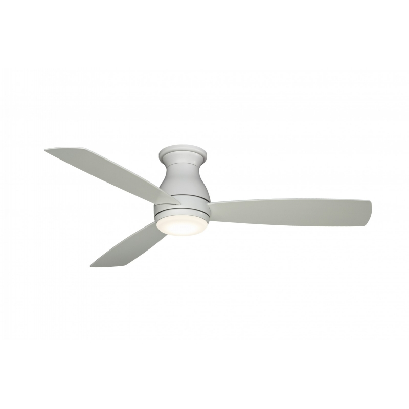 Outdoor ceiling fan hugh wet white 112 with led light by fanimatiion aloadofball Images