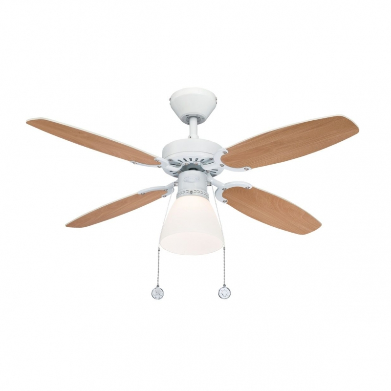Capitol White Ceiling Fan With Light By Westinghouse