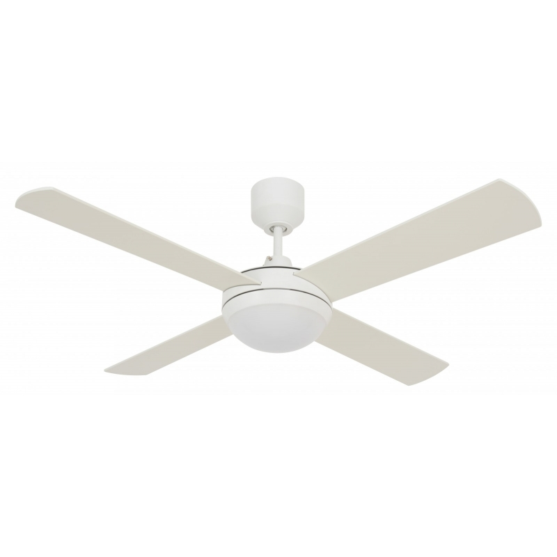 Ceiling fan futura eco white by beacon futura eco white with led light by beacon aloadofball Images