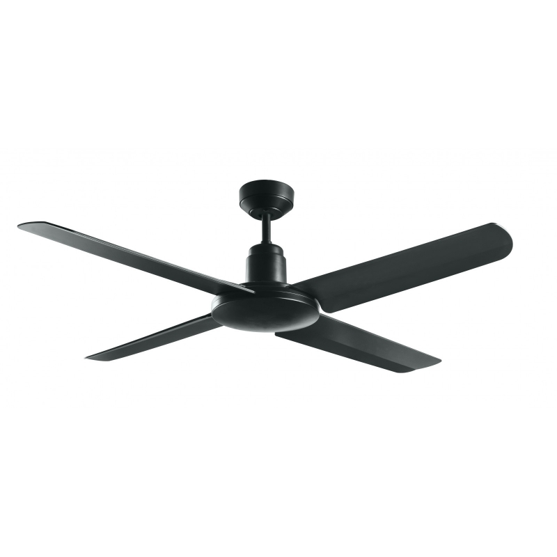 Outdoor Ceiling Fan Bayside Nautilus Black By Beacon