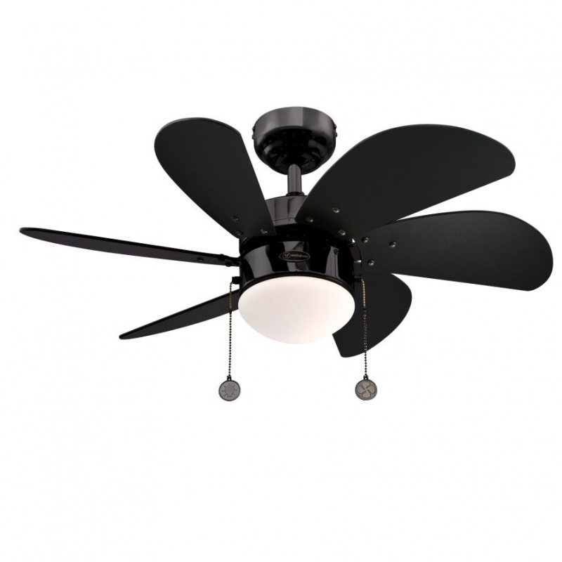 Turbo Swirl Metal Ceiling Fan With Light By Westinghouse