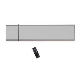 Outdoor- Indoor Infrared Heater CASATHERM HeatPanel PLUS IP55 Silver
