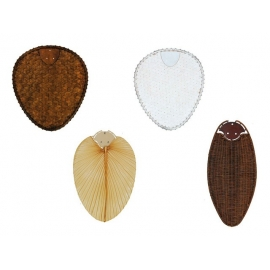 Bamboo, palm and rattan blades for Casafan ceiling fans