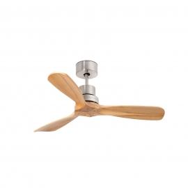 MINI LANTAU 106 cm. Mat Nickel Pine with remote control by Faro