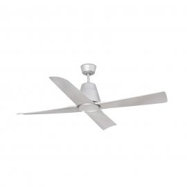 Outdoor Grey ceiling fan with DC motor Typhoon by FARO