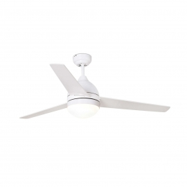 Tabarca 132 white with light and remote control by Faro