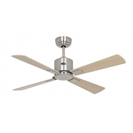 NEO ECO III 103 BN beech / maple with DC motor & remote control by Casafan.
