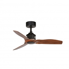 Just Fan XS 81 Black Walnut with DC motor by FARO