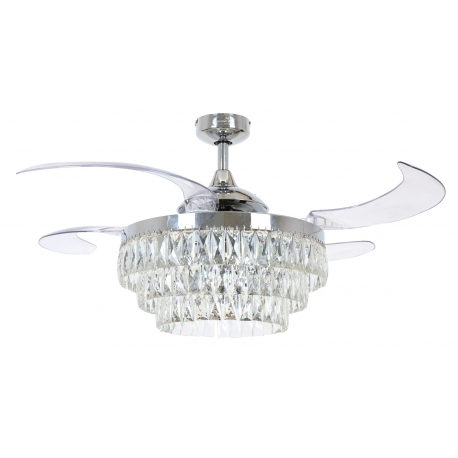 Veil 121 Chrome with retractable blades by Beacon