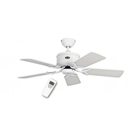 ECO Elements 103 White with DC motor and remote control by Casafan