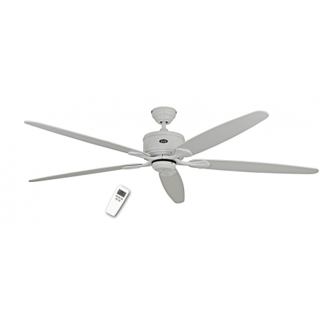 ECO Elements 180 White with DC motor and remote control by Casafan