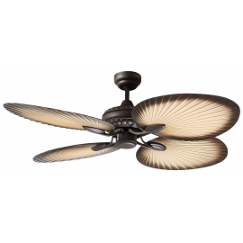Oasis 132 Outdoor ceiling fan with remote control by Martec