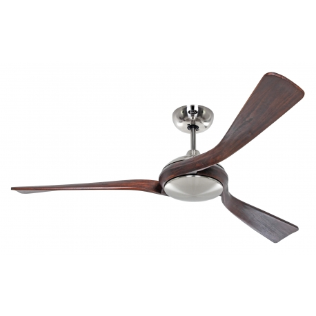 Eco Interior BN 140 Chrome / Walnut with DC motor by Casafan