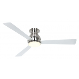 Eco Pallas BN 142 White / Gray with DC motor and LED light by Casafan
