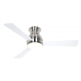 Eco Pallas BN 116 White / Gray with DC motor and LED light by Casafan