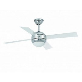 Honolulu ceiling fan with light & remote control by Faro